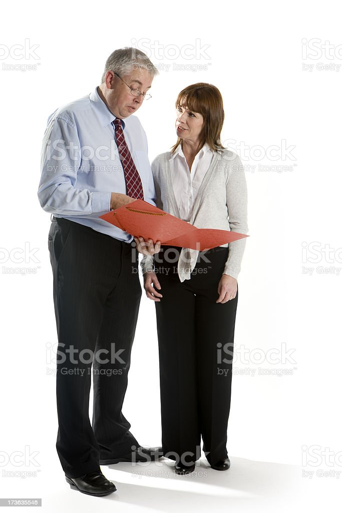 business arrangement royalty-free stock photo