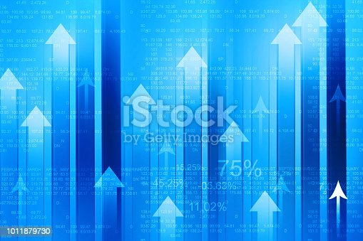 istock Business Arrow Graph 1011879730