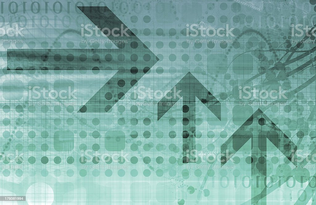 Business Arrows royalty-free stock photo