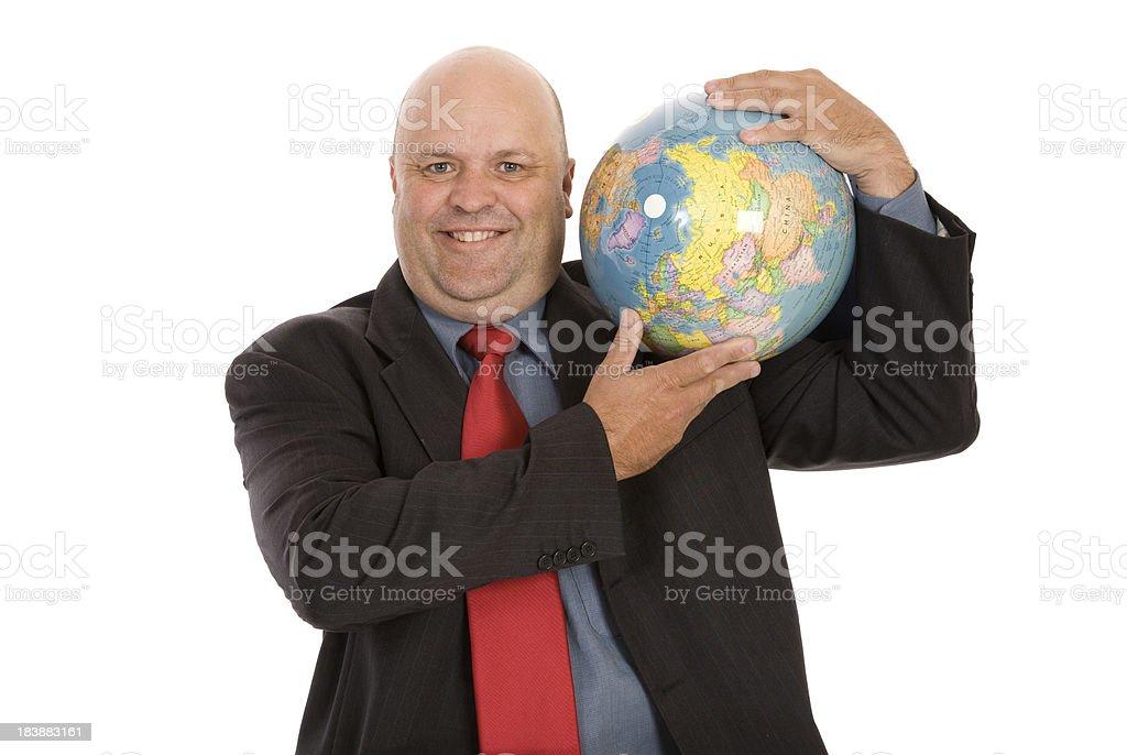 Business Atlas stock photo