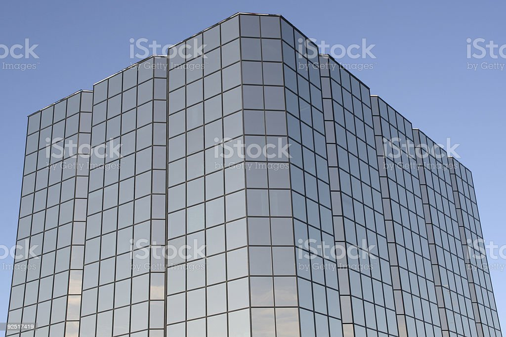 Business Background, Glass Cube royalty-free stock photo