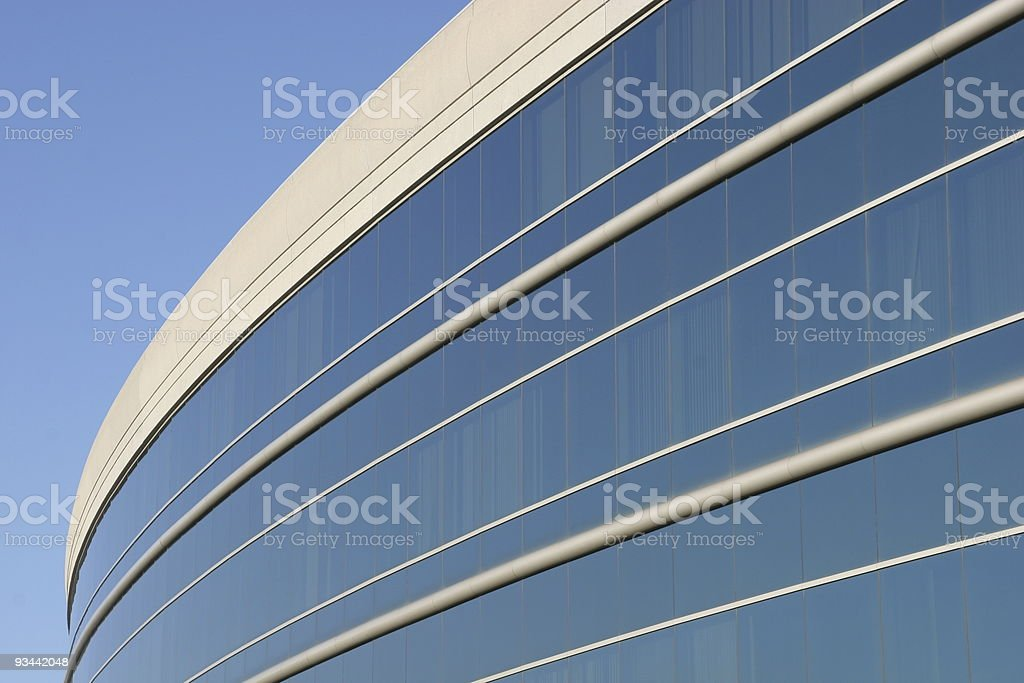 Business Hintergrund, Office Building Lizenzfreies stock-foto