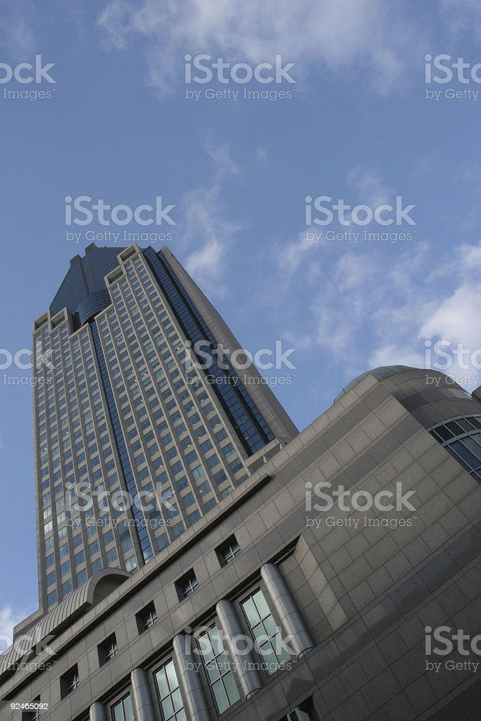 Business Background, Office tower stock photo