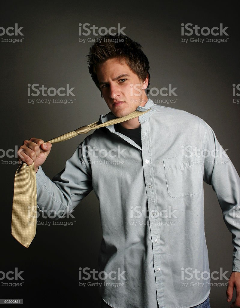 Business - Bad day at work royalty-free stock photo