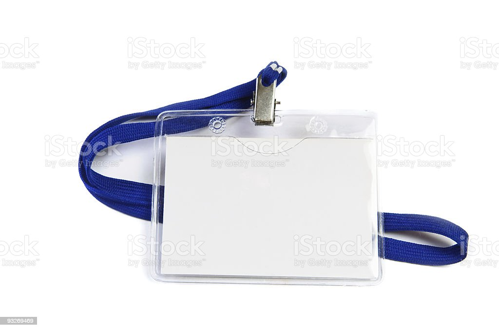 business badge royalty-free stock photo