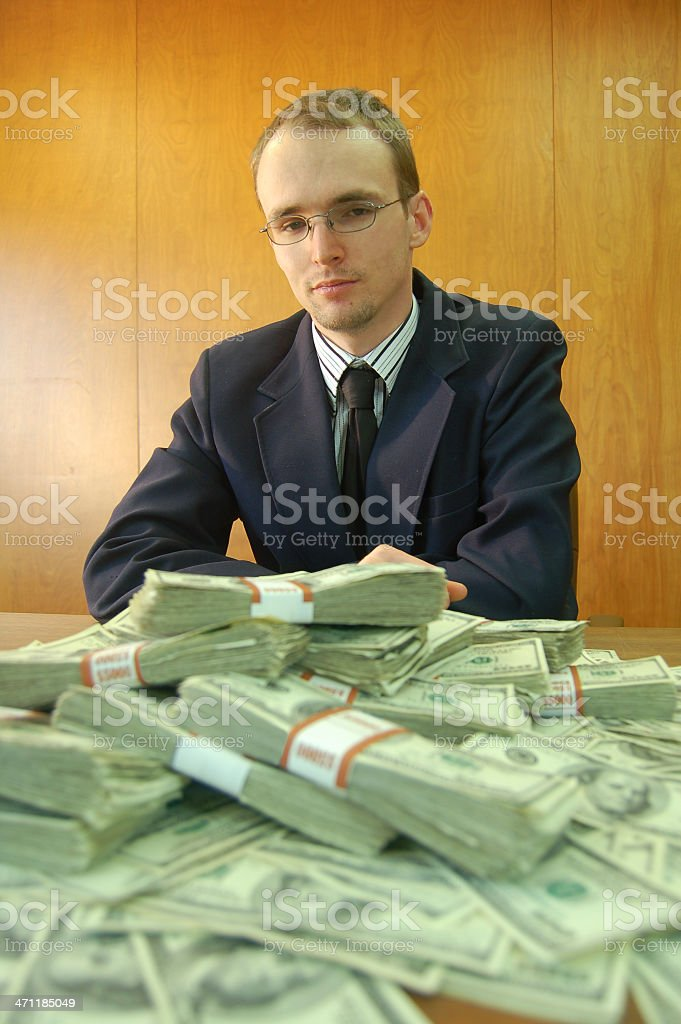 Business Bailout royalty-free stock photo