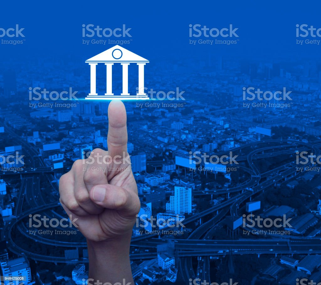 Business banking concept - foto stock