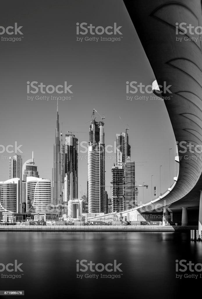 Business Bay, Dubai stock photo