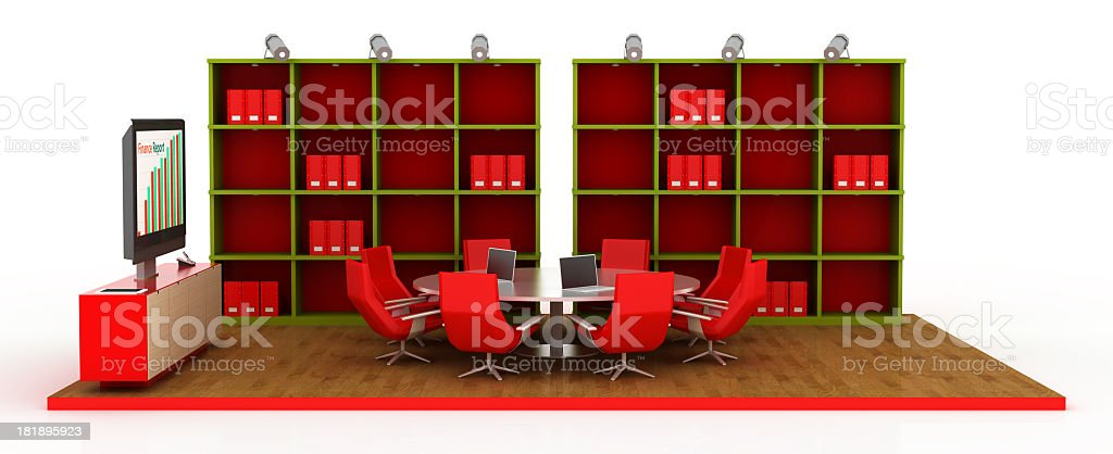 Business Board Room royalty-free stock photo