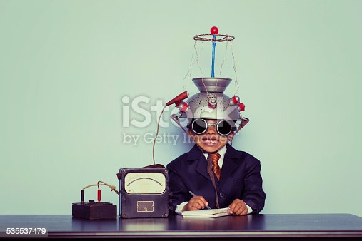 istock Business Boy with Idea Invention 535537479