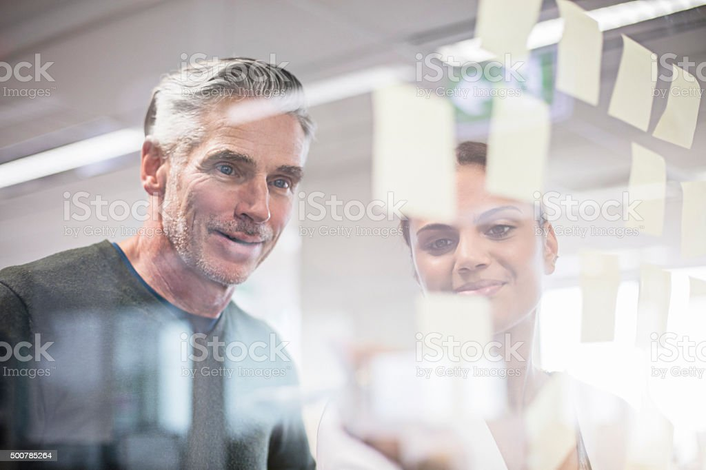 Business brainstorming stock photo