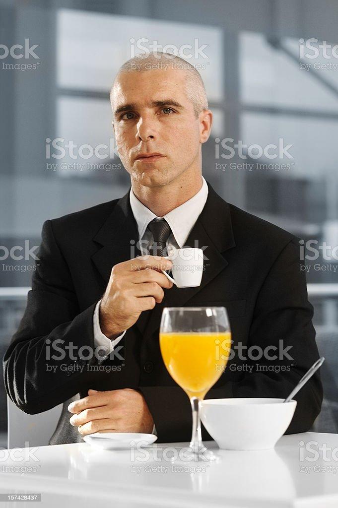 Business Breakfast stock photo