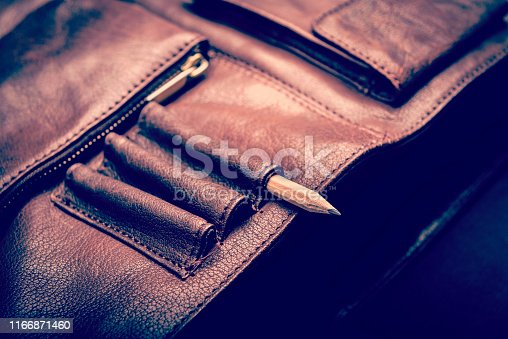 istock Business Briefcase Bag 1166871460