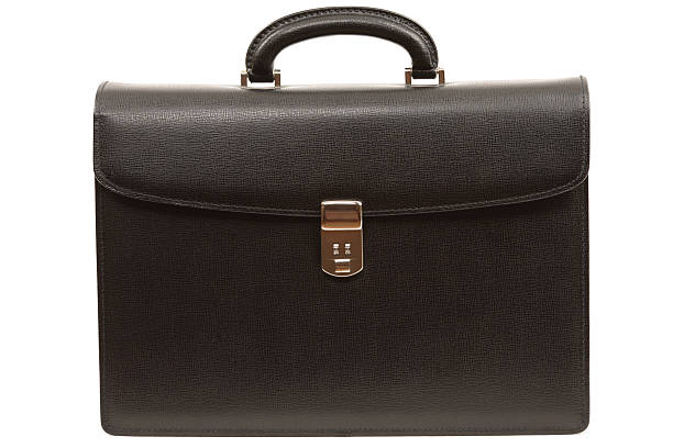 Business Briefcase Business Leather Briefcase briefcase stock pictures, royalty-free photos & images