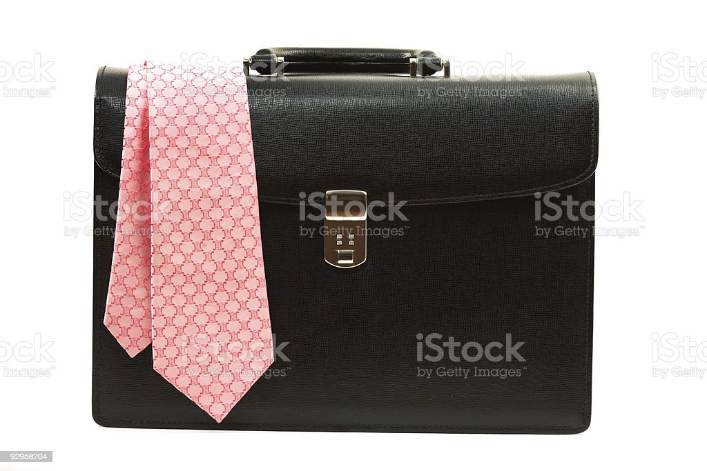 Business Briefcase royalty-free stock photo