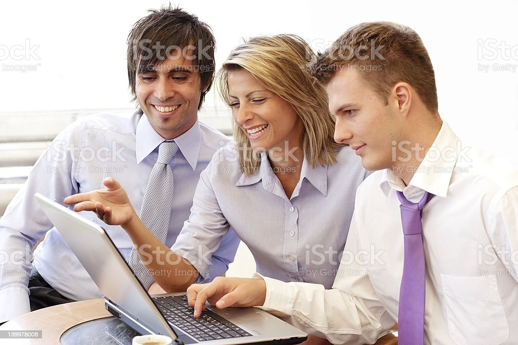 business briefing - Royalty-free Adult Stock Photo