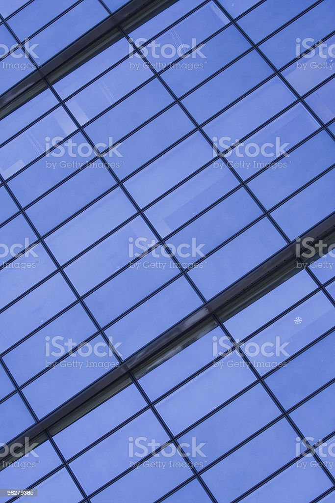 Business building detail royalty-free stock photo