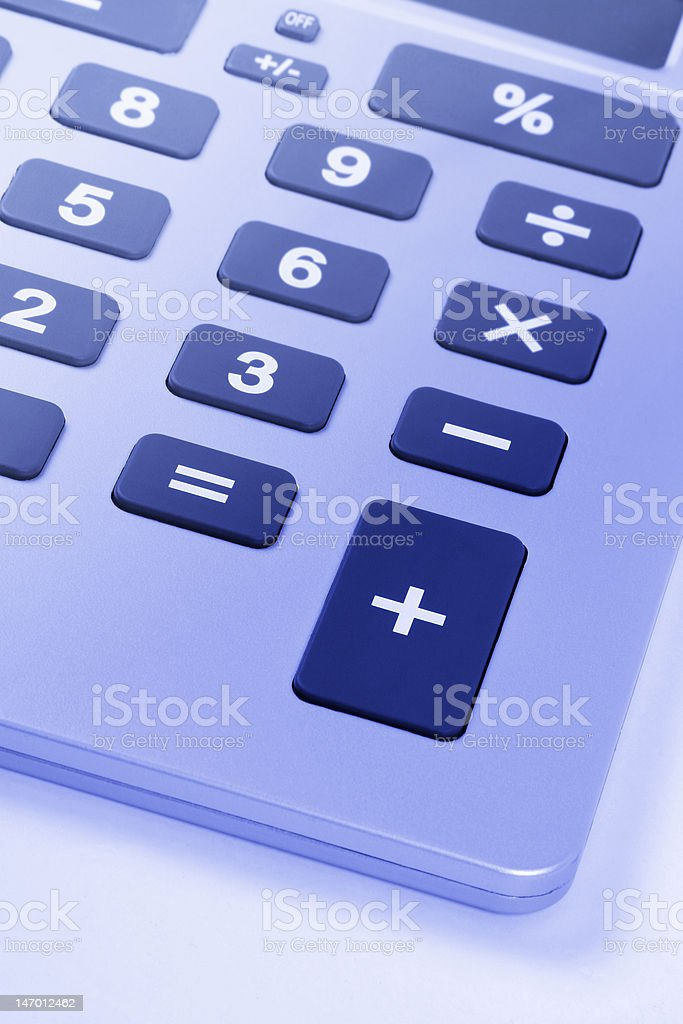 Business Calculator royalty-free stock photo