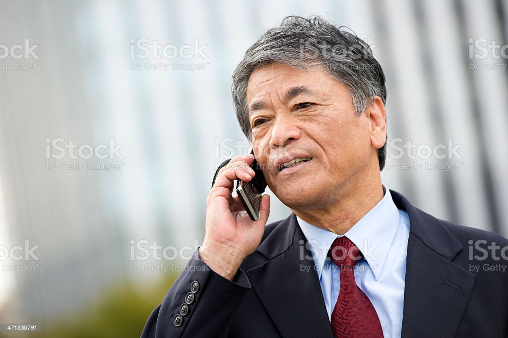 Business Call royalty-free stock photo