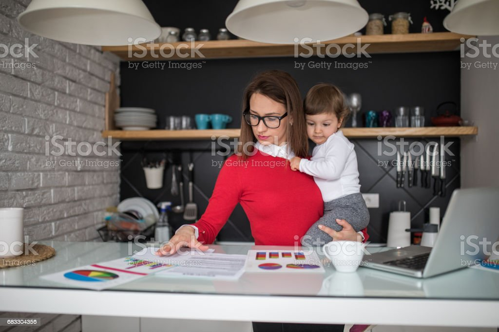 Business can be done from home too foto stock royalty-free