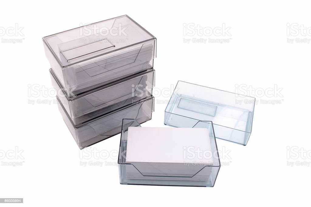Business Card Holders Stock Photo More Pictures Of Blank Istock