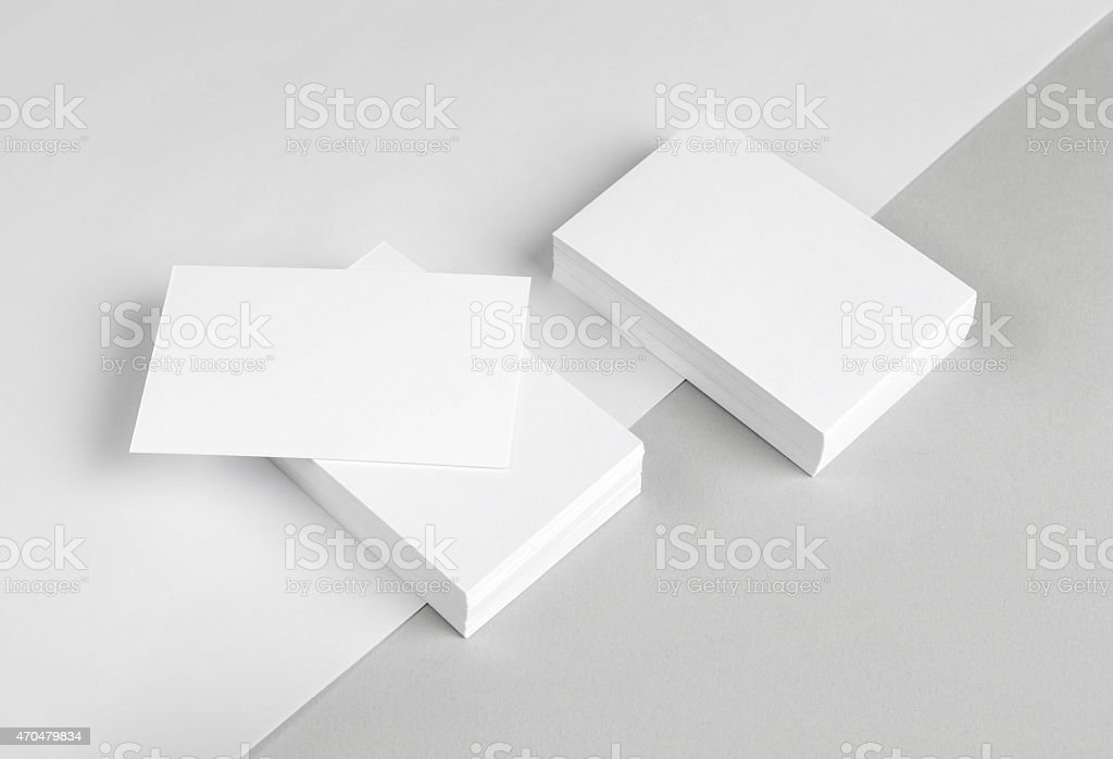 Business card & Letterhead stock photo