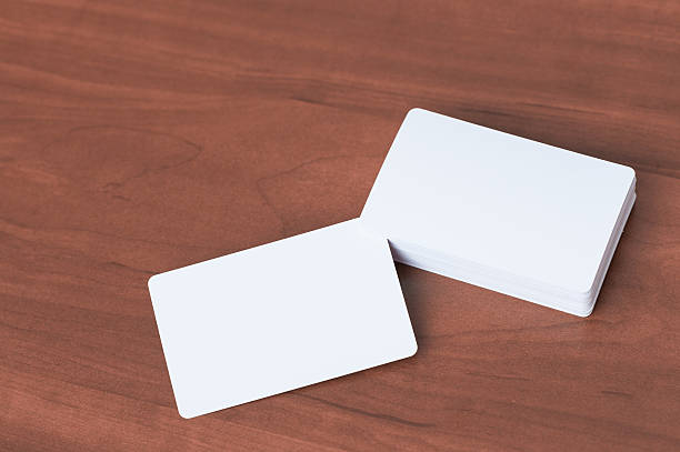 business card mock up. - stack rock stock pictures, royalty-free photos & images