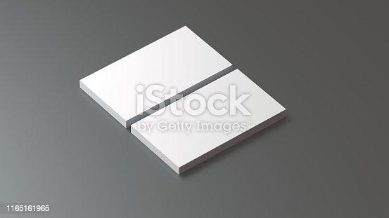 1144802544 istock photo Business Card Mockup 1165161965