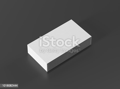 1144802544 istock photo Business card on black background 1018082444