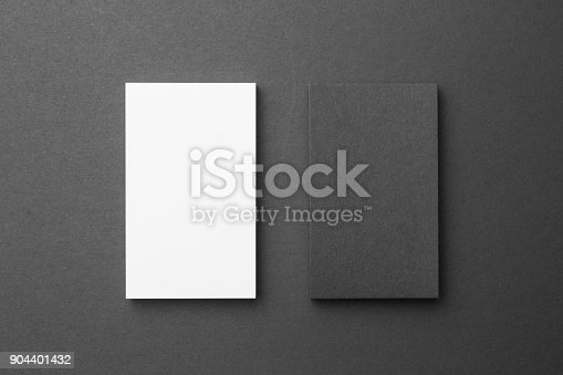 1144802544 istock photo Business card on black background 904401432