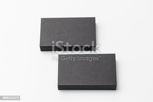 1144802544 istock photo Business card on white background 889234070