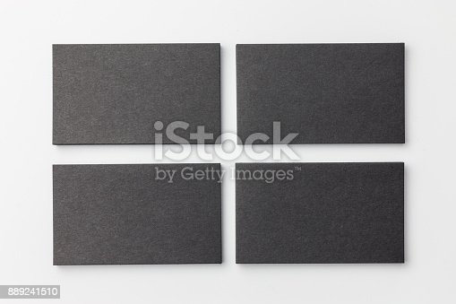 1144802544 istock photo Business card on white background 889241510