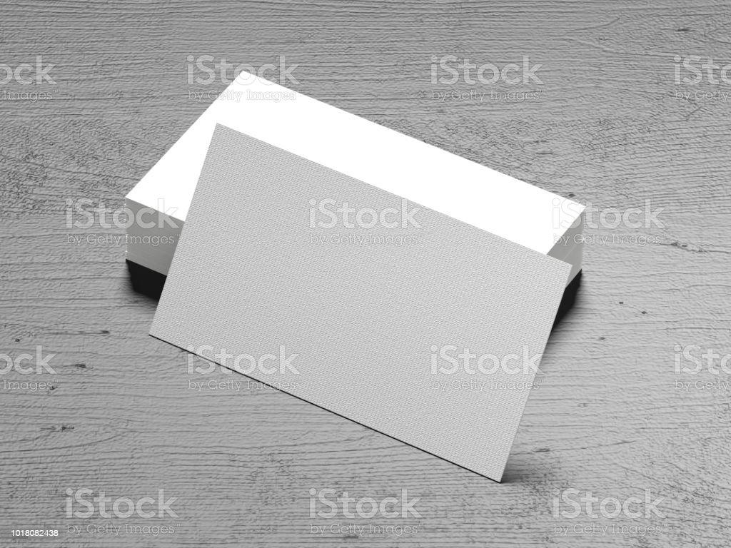 Visitenkarte Auf Holz Hintergrund Stockfoto Und Mehr Bilder