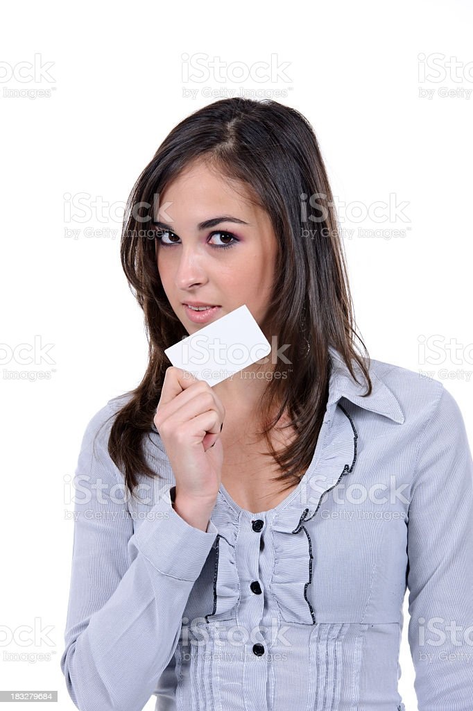 business card royalty-free stock photo