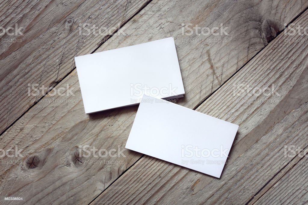 Business card template for branding identity stock photo