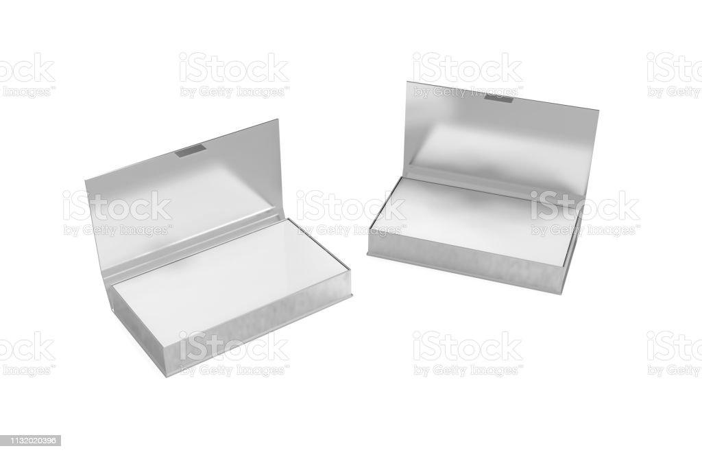 Visitenkarten In Metallbox Stockfoto Und Mehr Bilder Von