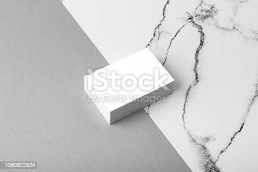 istock Business cards mock up 1080822634