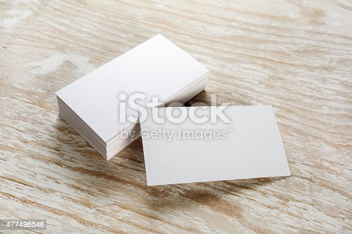 istock Business cards 477498546