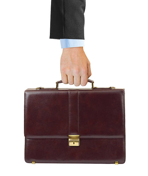 Business case in hand stock photo