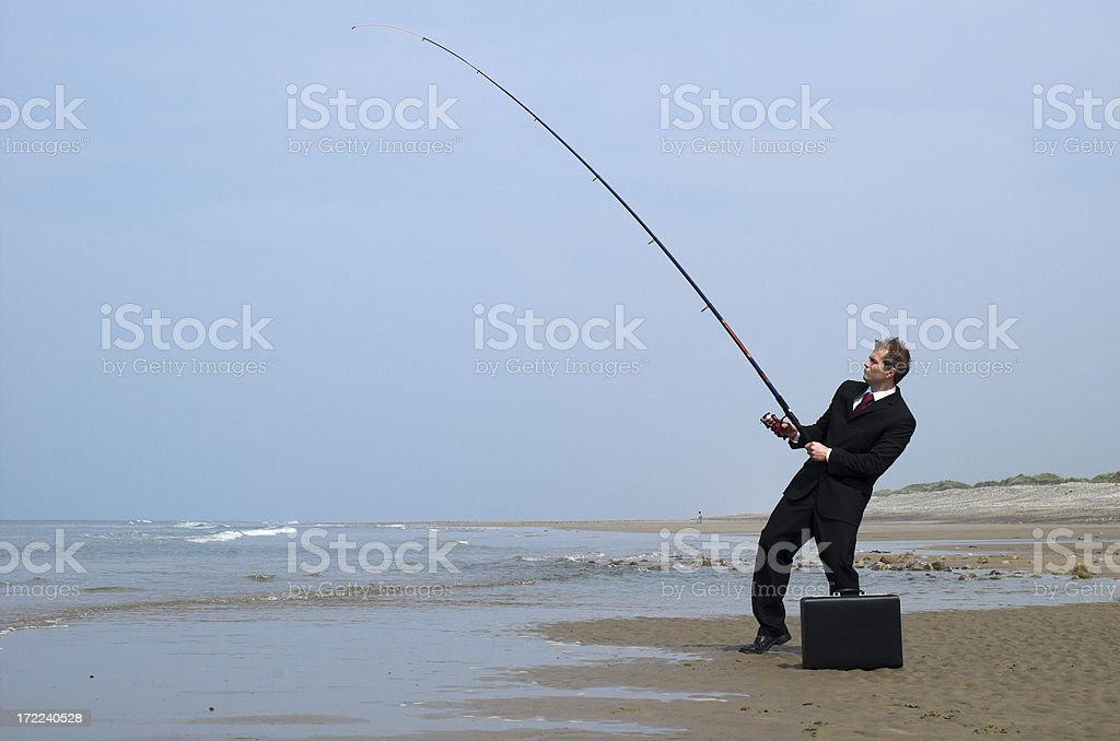 business catch royalty-free stock photo