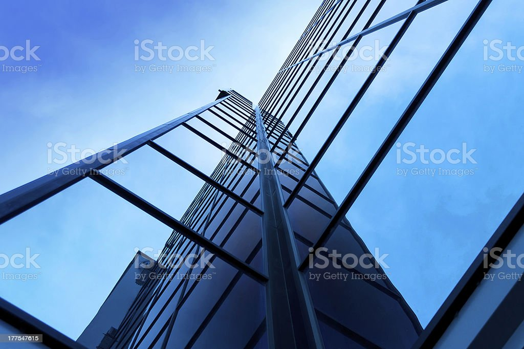 Business center building royalty-free stock photo