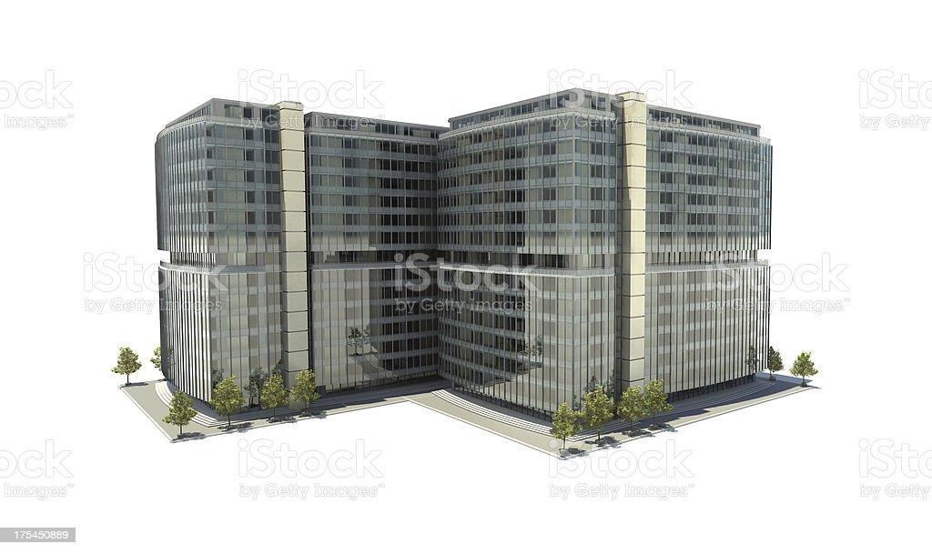 Business center stock photo