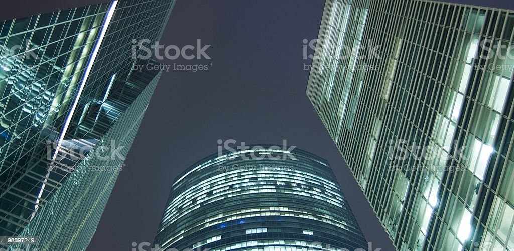 Business centre royalty-free stock photo