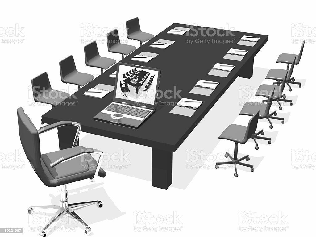 business chair royalty-free stock photo