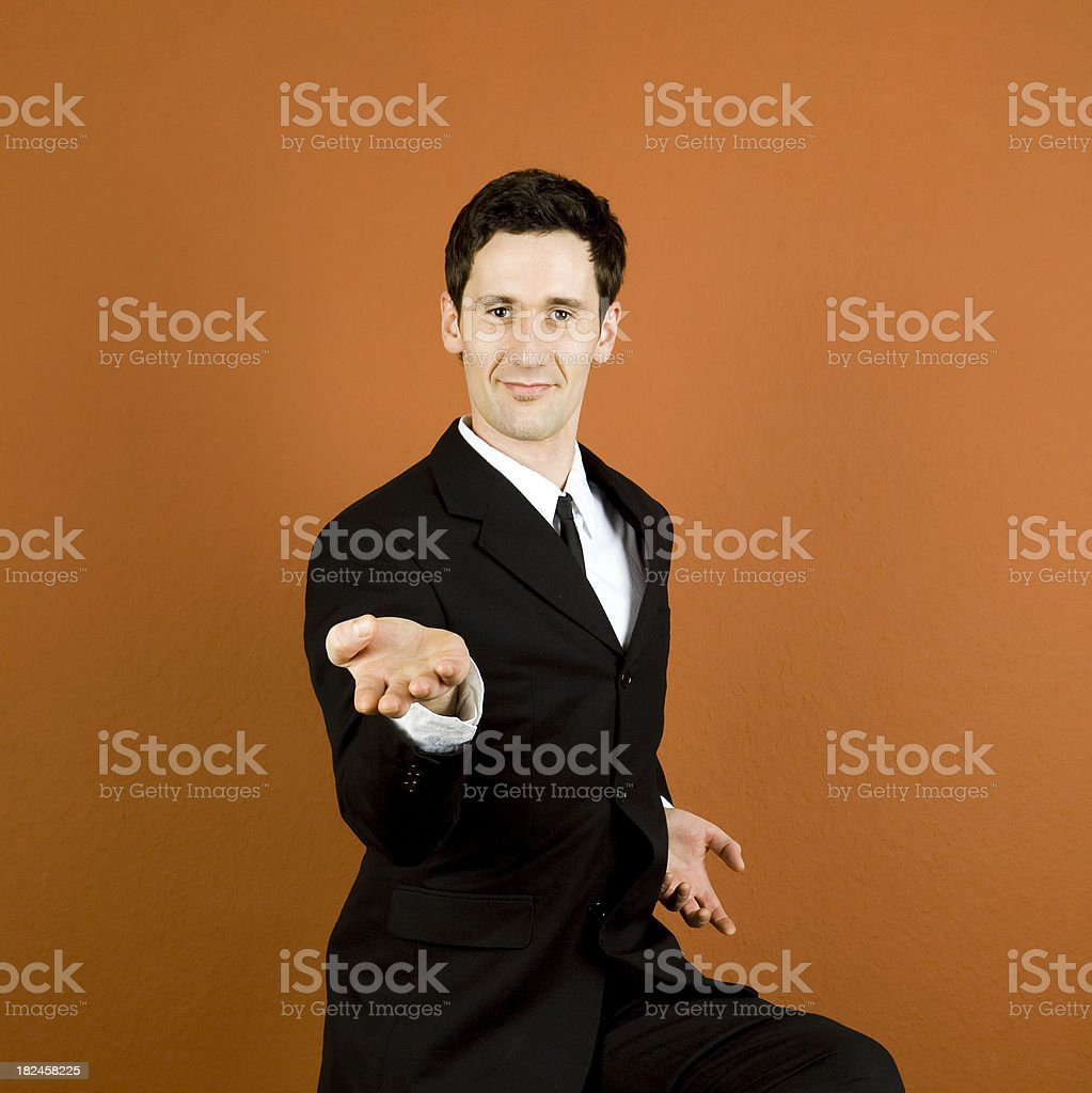 Business Challenge royalty-free stock photo