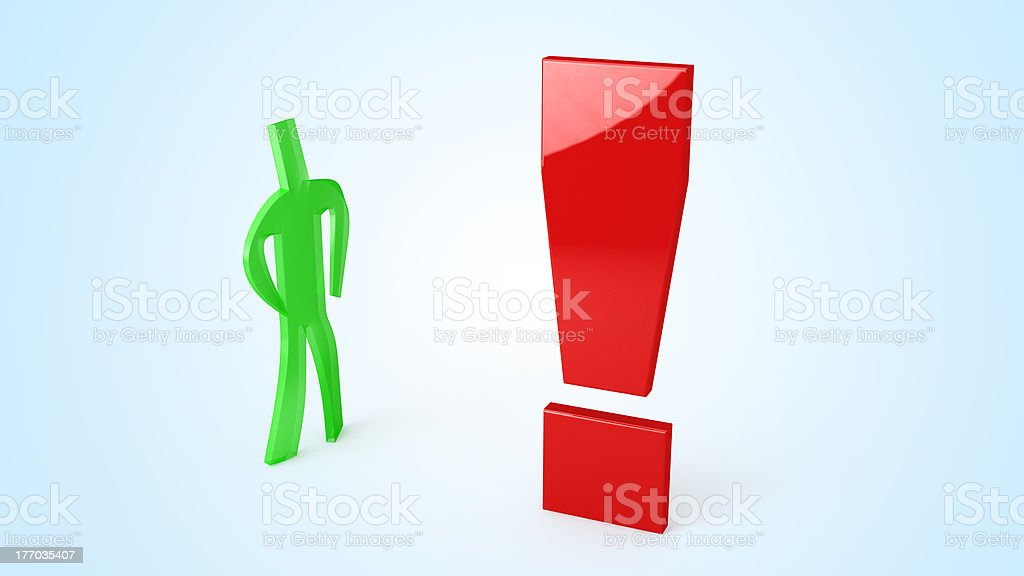 business character stock photo