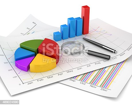 istock Business chart and finance concept 469024590