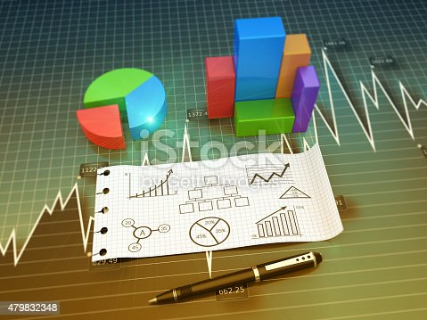istock Business chart as concept 479832348