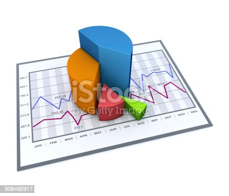 istock Business chart 506465917