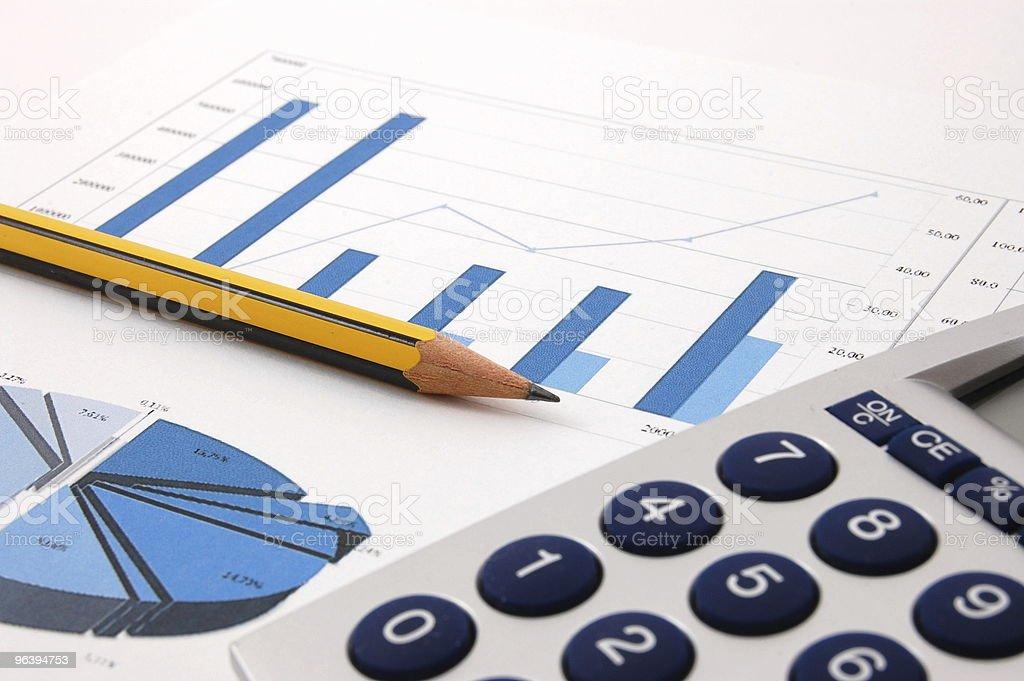 business chart - Royalty-free Analyzing Stock Photo